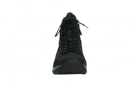 wolky lace up boots 03026 ambient 11000 black nubuck_7