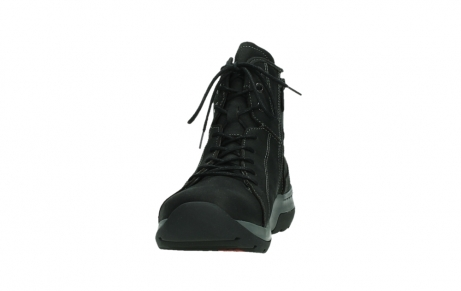 wolky lace up boots 03026 ambient 11000 black nubuck_8