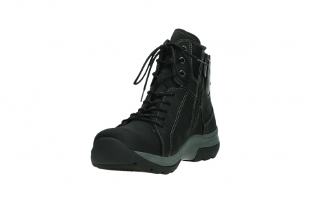wolky lace up boots 03026 ambient 11000 black nubuck_9