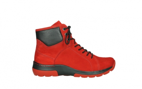 wolky lace up boots 03026 ambient 11505 darkred nubuckleather_1