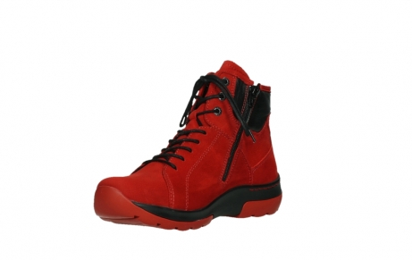 wolky lace up boots 03026 ambient 11505 darkred nubuckleather_10