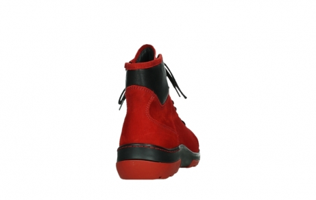 wolky lace up boots 03026 ambient 11505 darkred nubuckleather_20