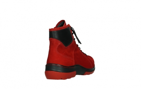 wolky lace up boots 03026 ambient 11505 darkred nubuckleather_21
