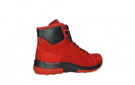 wolky lace up boots 03026 ambient 11505 darkred nubuckleather_23