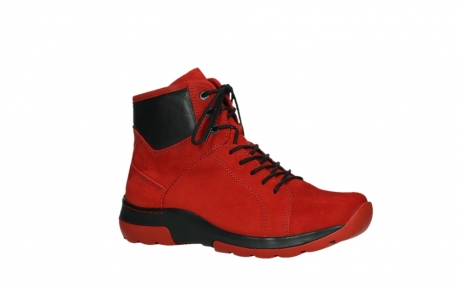 wolky lace up boots 03026 ambient 11505 darkred nubuckleather_3