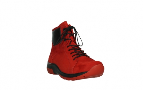 wolky lace up boots 03026 ambient 11505 darkred nubuckleather_5