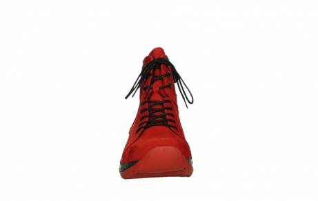 wolky lace up boots 03026 ambient 11505 darkred nubuckleather_7