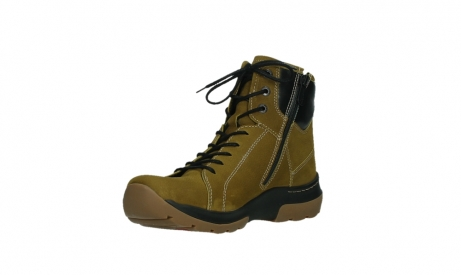 wolky lace up boots 03026 ambient 11940 mustard nubuckleather_10