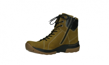 wolky lace up boots 03026 ambient 11940 mustard nubuckleather_11
