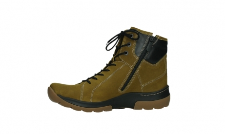 wolky lace up boots 03026 ambient 11940 mustard nubuckleather_12