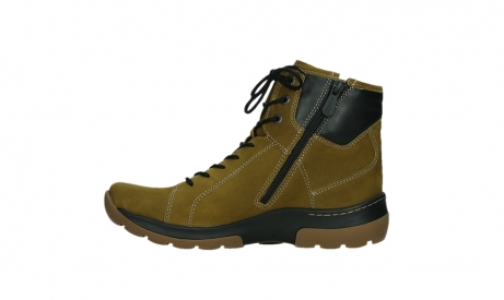 wolky lace up boots 03026 ambient 11940 mustard nubuckleather_13