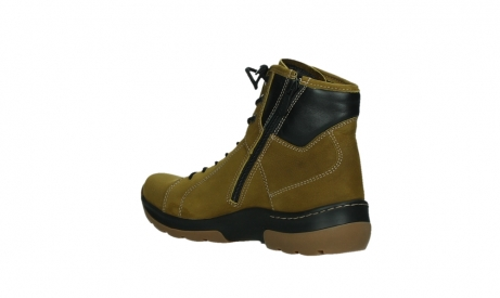 wolky lace up boots 03026 ambient 11940 mustard nubuckleather_16