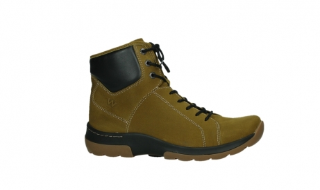 wolky lace up boots 03026 ambient 11940 mustard nubuckleather_2