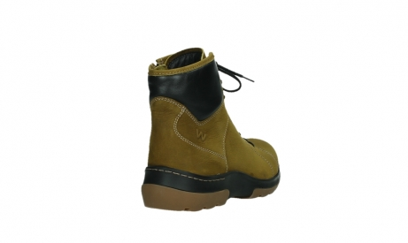 wolky lace up boots 03026 ambient 11940 mustard nubuckleather_21