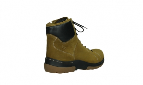 wolky lace up boots 03026 ambient 11940 mustard nubuckleather_22