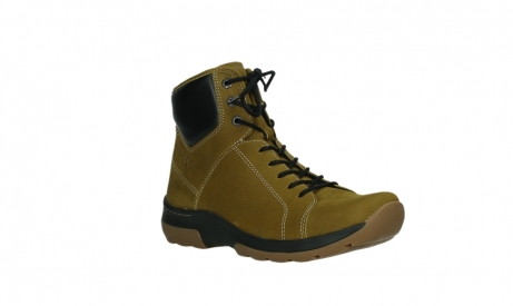 wolky lace up boots 03026 ambient 11940 mustard nubuckleather_4