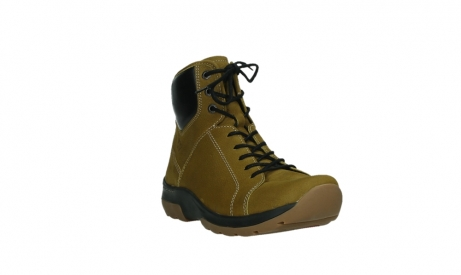 wolky lace up boots 03026 ambient 11940 mustard nubuckleather_5