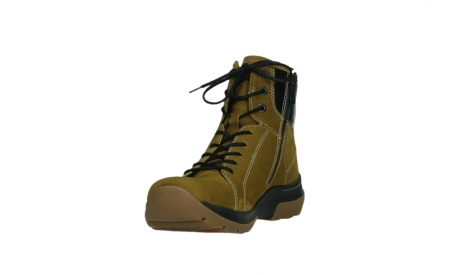 wolky lace up boots 03026 ambient 11940 mustard nubuckleather_9