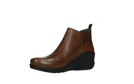 wolky ankle boots 03875 anvik 30430 cognac leather_11