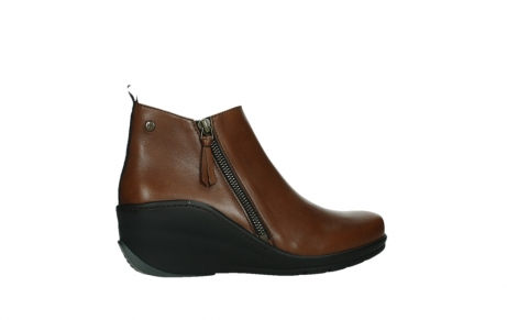 wolky ankle boots 03875 anvik 30430 cognac leather_24