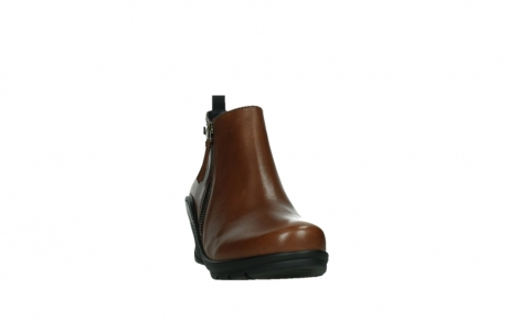 wolky ankle boots 03875 anvik 30430 cognac leather_6