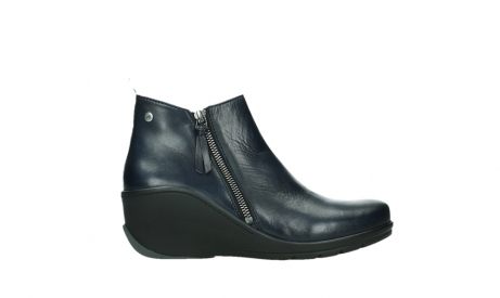 wolky ankle boots 03875 anvik 30800 blue leather_1