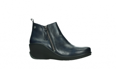 wolky ankle boots 03875 anvik 30800 blue leather_2