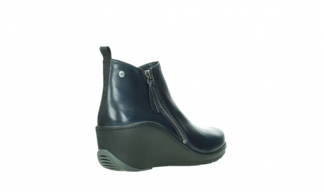 wolky ankle boots 03875 anvik 30800 blue leather_22