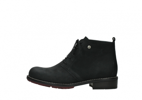 wolky ankle boots 04443 fairy 11000 black nubuck_1