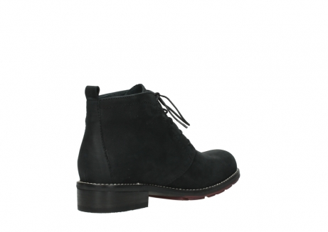 wolky ankle boots 04443 fairy 11000 black nubuck_10