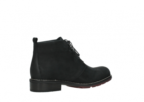 wolky ankle boots 04443 fairy 11000 black nubuck_11