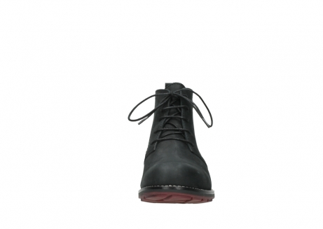 wolky ankle boots 04443 fairy 11000 black nubuck_19