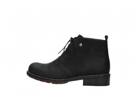 wolky ankle boots 04443 fairy 11000 black nubuck_2