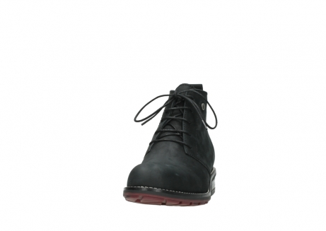 wolky ankle boots 04443 fairy 11000 black nubuck_20
