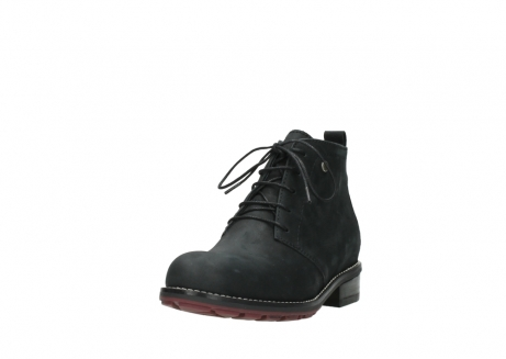 wolky ankle boots 04443 fairy 11000 black nubuck_21