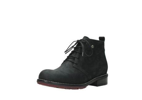 wolky ankle boots 04443 fairy 11000 black nubuck_22
