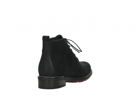 wolky ankle boots 04443 fairy 11000 black nubuck_9