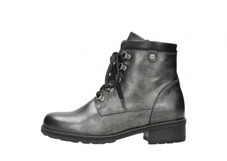 wolky lace up boots 04475 ronda 81280 metal grey leather_1