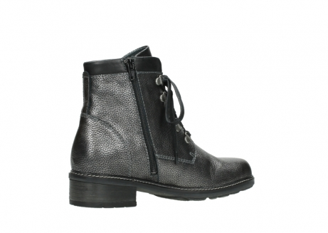 wolky lace up boots 04475 ronda 81280 metal grey leather_11