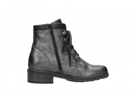 wolky lace up boots 04475 ronda 81280 metal grey leather_12