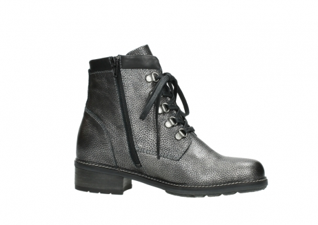 wolky lace up boots 04475 ronda 81280 metal grey leather_14