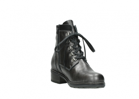 wolky lace up boots 04475 ronda 81280 metal grey leather_17