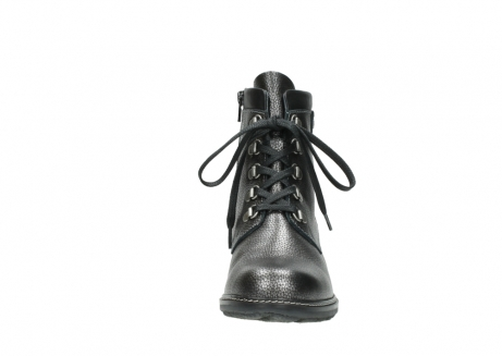 wolky lace up boots 04475 ronda 81280 metal grey leather_19
