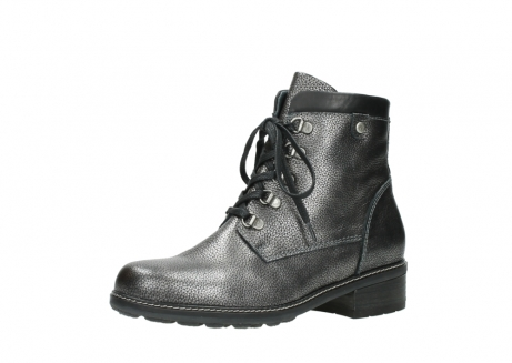 wolky lace up boots 04475 ronda 81280 metal grey leather_23