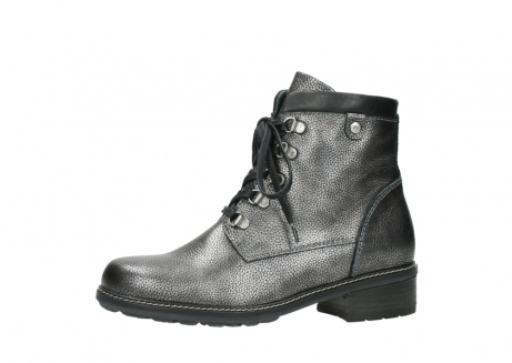 wolky lace up boots 04475 ronda 81280 metal grey leather_24