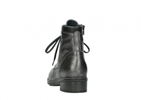 wolky lace up boots 04475 ronda 81280 metal grey leather_6