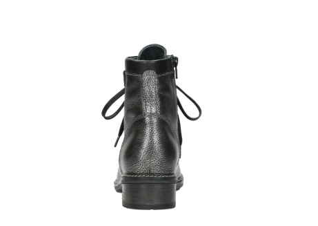 wolky lace up boots 04475 ronda 81280 metal grey leather_7