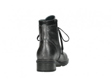 wolky lace up boots 04475 ronda 81280 metal grey leather_8