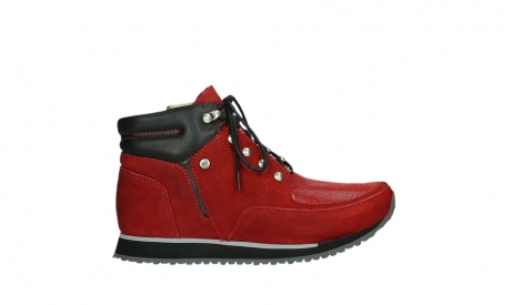 wolky lace up boots 05808 e funk 11505 darkred stretchleather_1