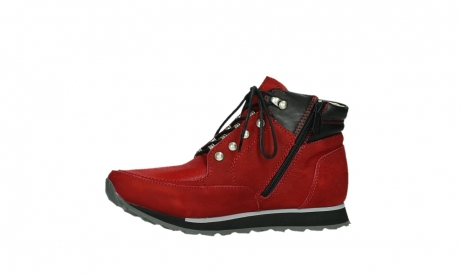 wolky lace up boots 05808 e funk 11505 darkred stretchleather_12